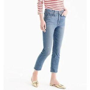 J. Crew Vintage Crop Jeans Size 27